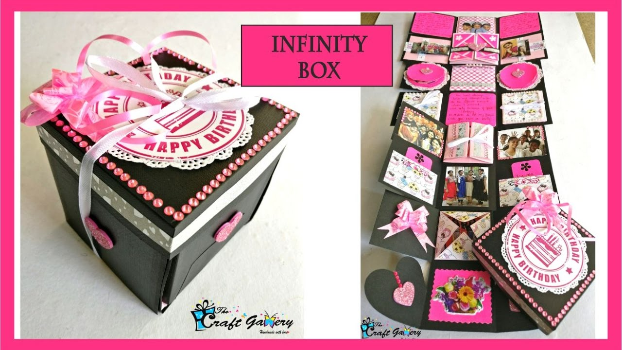 Birthday Gift For A Best Friend Infinity Box Youtube
