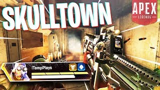 Skulltown is CRAZY on Kings Canyon After Dark! - PS4 Apex Legends