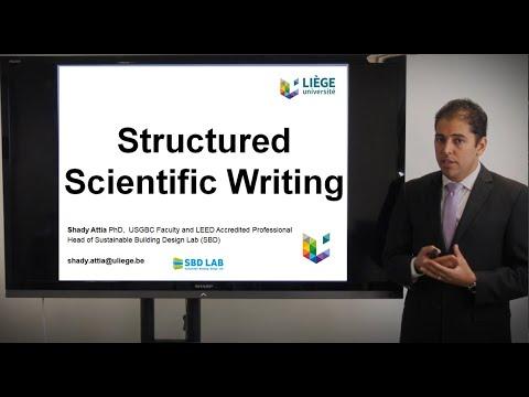 structured-scientific-writing
