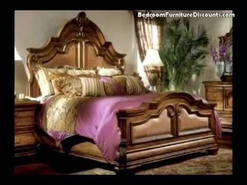 AICO Tuscano Mansion Bedroom Set at BedroomFurnitureDiscounts.com ...