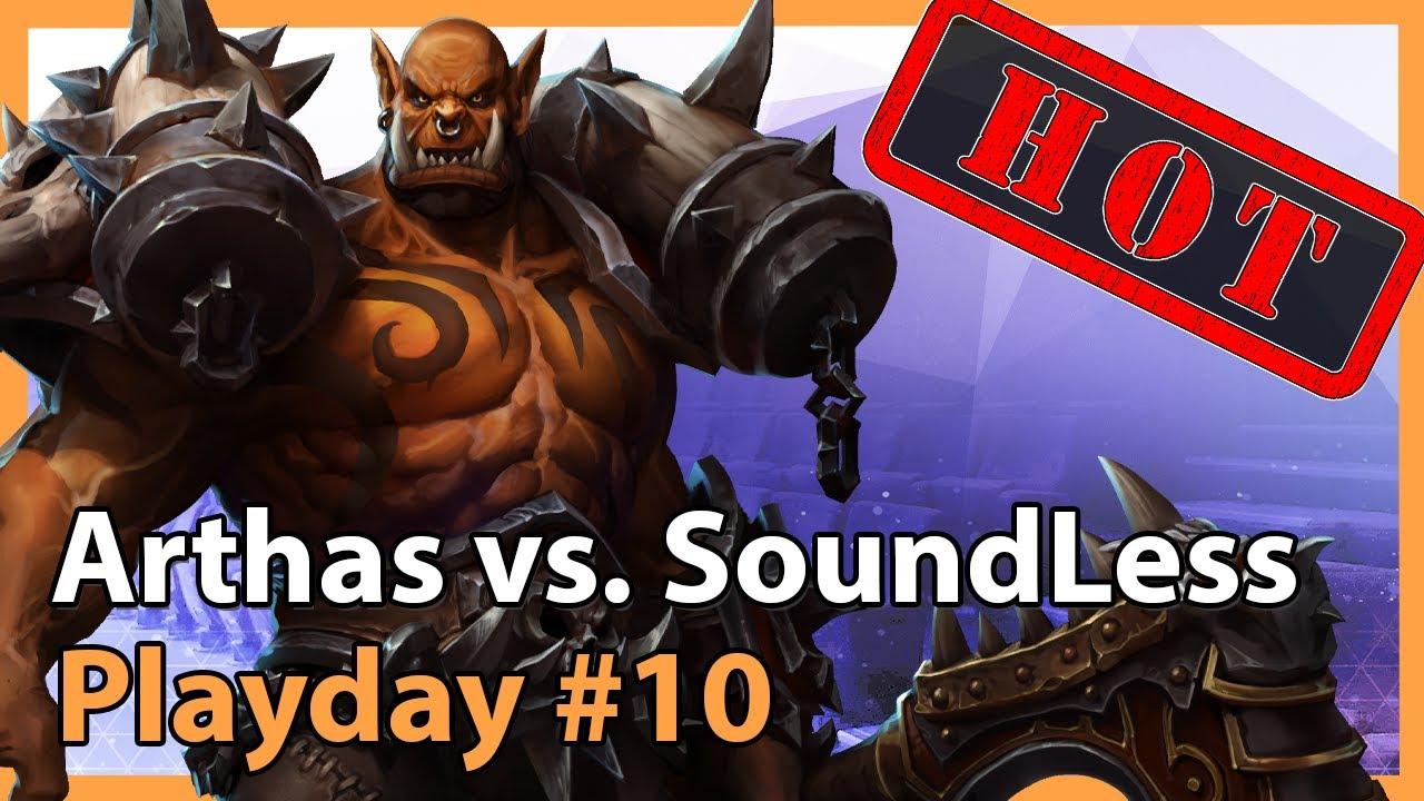 EPIC: Arthas vs. SoundLess - MC - Heroes of the Storm 2021