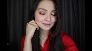 My Very First Full-On Glam Make Up Tutorial Using The Bronze Extended Kyshadow Palette