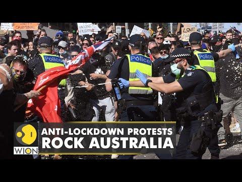 COVID-19: Anti-lockdown protests rock Australia
