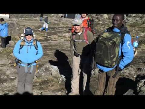Richard Byerley Kilimanjaro Trek Video