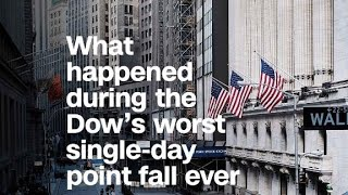 Here's what happened during the Dow's worst sin...