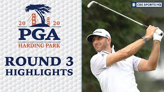 2020 PGA Championship Round 3 Highlights: Dustin Johnson leads after 54 | CBS Sports HQ