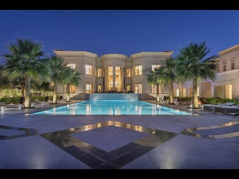 Majestic golf course mansion in dubai united arab for La mansion casa hotel ayacucho
