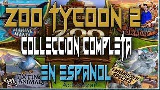 DESCARGA ZOO TYCOON 2 COLECCION COMPLETA EN ESPAÑOL/ INCLUYE CRACK