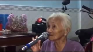 Bà Ngoại U90 hát karaoke HOÀNG HÔN MÀU TÍM