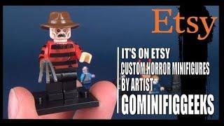 It's on Etsy | Custom Horror Mini Figures by GoMinifigGeeks