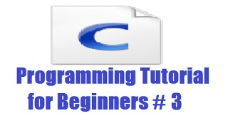 C Programming for Beginners 3 - Simple input and output (printf , scanf , placeholder )