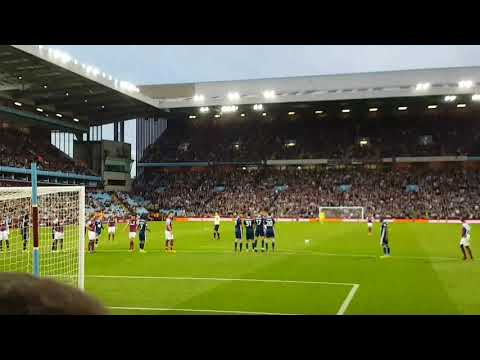 Conor Hourihane brilliant free kick against Nottingham forest.