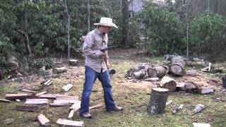 How to use a Splitting Axe or Maul, Skill Training