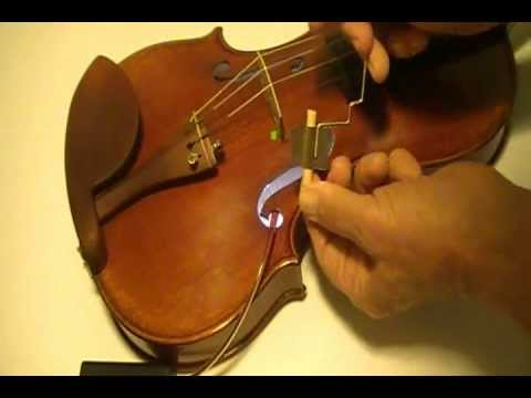 Setting Violin Sound  Post is Quick and Easy using Sound Post Buddy tool