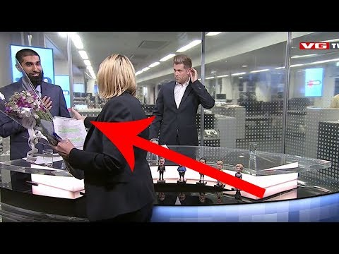 Muslim Guy Refuses To Shake Norwegian Female Minister's Hand on LIVE TV (REACTION)