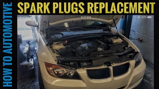 How to Replace the Spark Plugs on a 2008 BMW 328i with a N51 3.0 L Engine