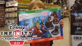 Getting Disney Infinity 2.0 Marvel Video Game for Xbox One