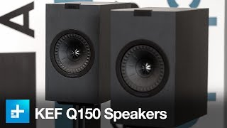 KEF Q150 Bookshelf Speakers - Hands On Review