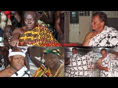 I Am A Proud Ashanti; I Respect Our Customs And Traditions - A White Man Claims