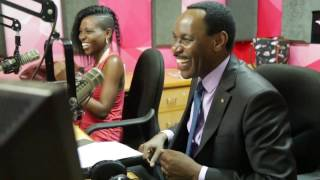Kenya Film boss Ezekiel Mutua dancing and singing along to Thitima