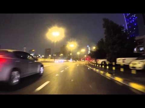Koweit Koweit city de nuit, Gopro / Kuwait Kuwait city by night, Gopro
