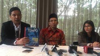 Video Soal Somasi TGB,Tempo: Liputan Sesuai Kaidah Jurnalistik download MP3, 3GP, MP4, WEBM, AVI, FLV September 2018
