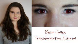 bella cullen transformation tutorial makeup hair and outfit