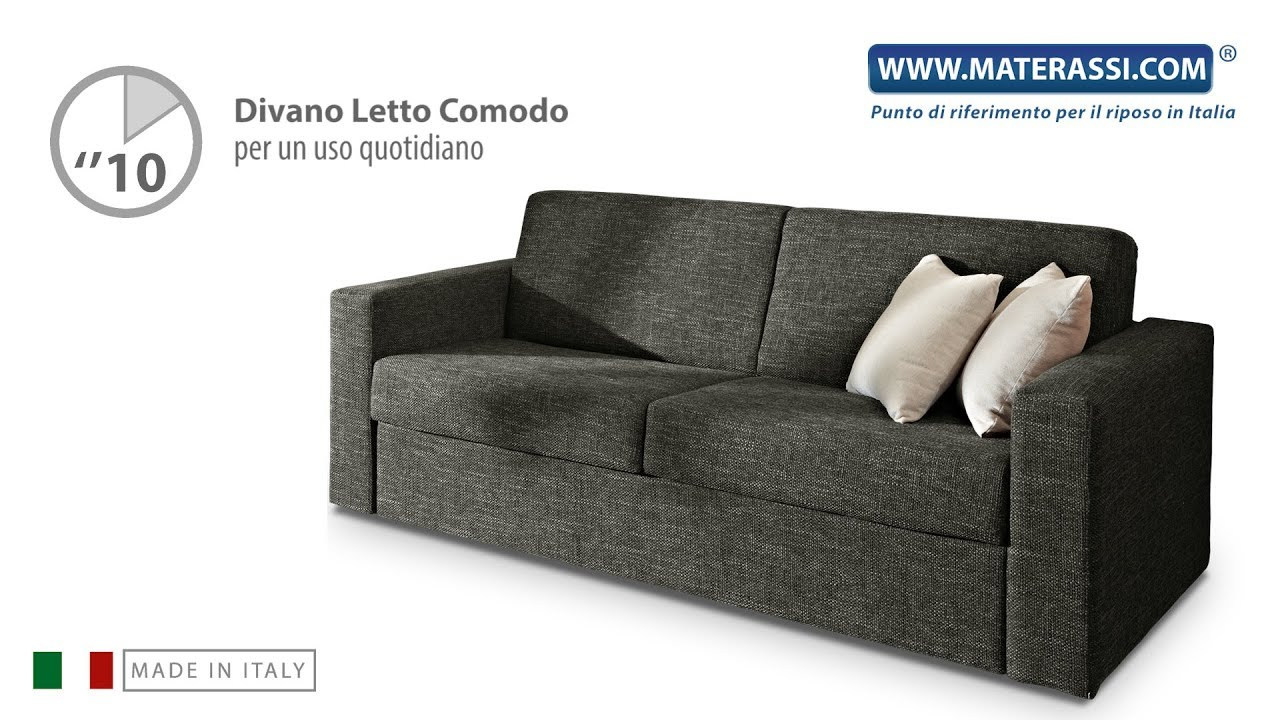 Divano Letto 2 Posti Torino.Divano Letto Comodo Divano Trasformabile In Letto Matrimoniale 3