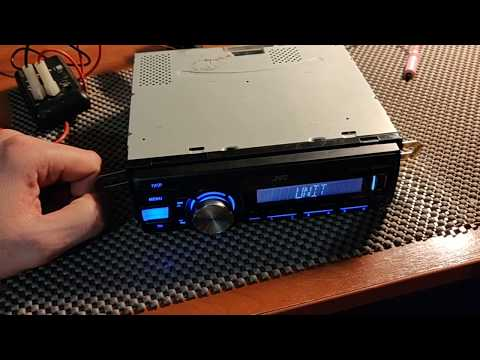 Chk Wiring ремонт Jvc Kd X250bt1