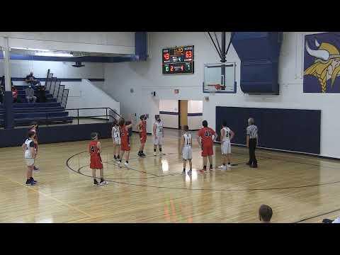 Haslett Middle School 8th Grade (A) Boys Basketball vs Mason