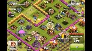 Clash of Clans - Sweet Giant Healer Raid 1.1 Million