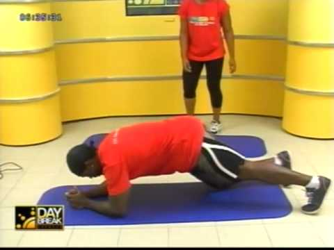 Soca work out with Chris on Daybreak Grenada