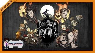 Индиана: Don't Starve Together с Рамоном и Турбо (геймплей)