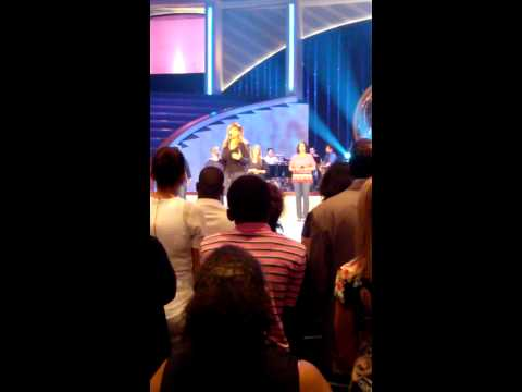 Erica Campbell singing All I Need Is You