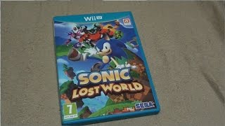 Unboxing (PL) - Sonic Lost World (2013 - Wii U)