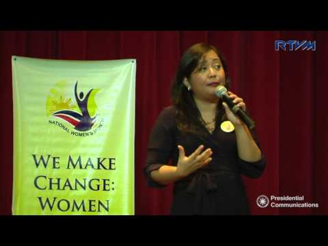 How ICTs help advance women's empowerment? - Michelle Tapia