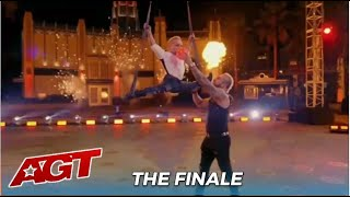 Alan Silva & Brother Alfredo From Deadly Games Perform Together On AGT Stage