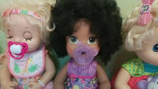 Our Baby Alive doll collection