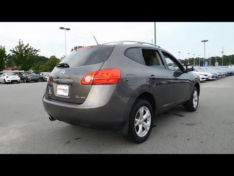 2008 Nissan Rogue Wilson, New Bern, Goldsboro, Greenville, Rocky Mount, NC  DT10911A