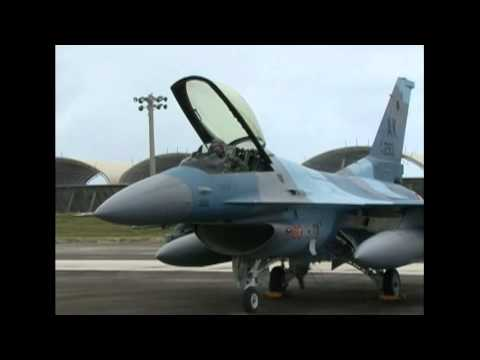 "F-16 Fighting Falcon ""18th Aggressor Squadron"" USAF"