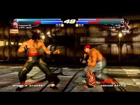 Tekken Tag Tournament 2 - [Medium - Arcade Battle] - Marshall & Forest Law Playthrough