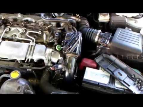Toyota 2.0d4d Drosselklappe После замены Дросельхой заслонки 2