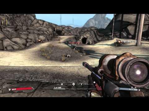 [HD] Borderlands: M03 Skags at the Gate & M04 Claptrap Rescue