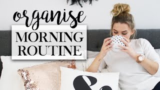 How To Organise Your Morning Routine - Organisation Hacks #TheAugustDaily