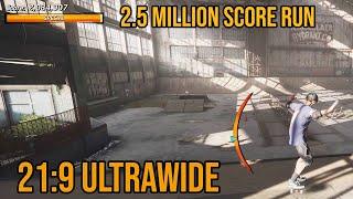 Tony Hawk's Pro Skater 1 + 2 (PC) - 21:9 Ultrawide Gameplay