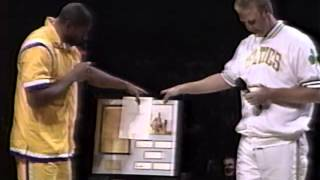 Larry Bird Retirement 1993 Part 9 Magic Johnson 2