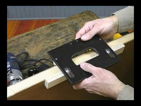 Woodhaven Hinge Jigs Youtube