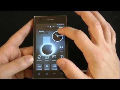 LG Prada 3.0 Android videoreview da HDblog (Backstage)