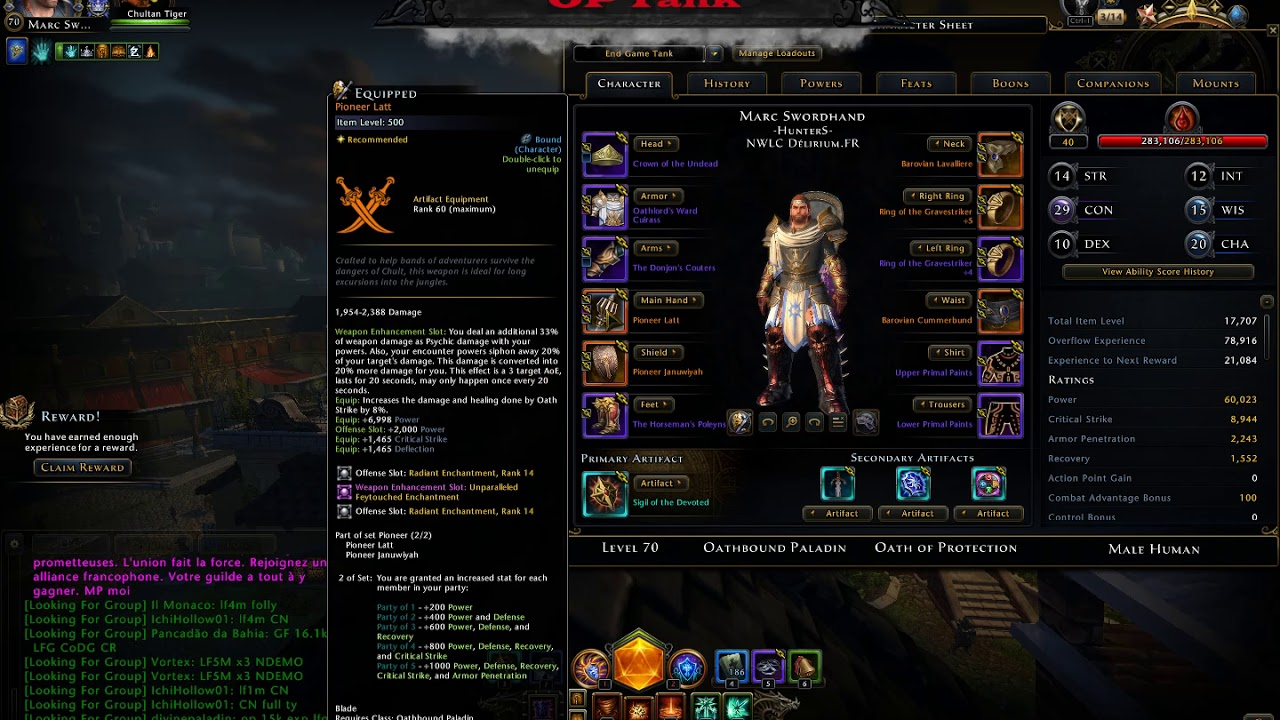 Neverwinter Oathbound Paladin Protection Tank Build (DEAD BUILD DUE TO MOD  16)