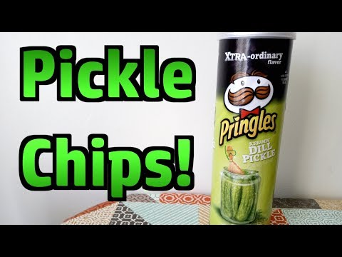 Pringles - Dill Pickle Flavour - Weird Stuff In A Can #79